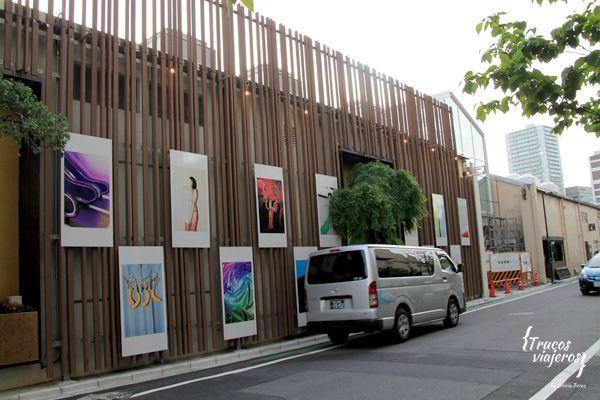 Exposiciones al aire libre Tokio Tennozu