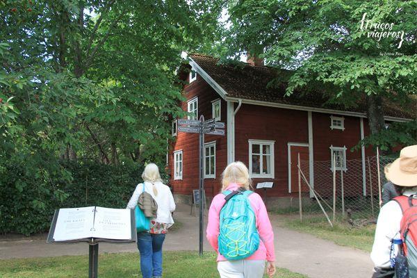 Casa natal escritora Astrid Lindgren