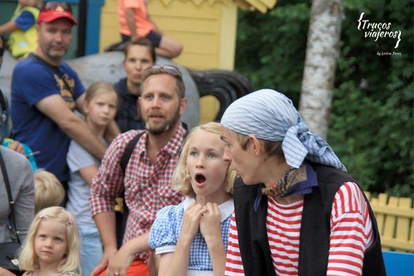 Parque Astrid Lindgrens Varld actores