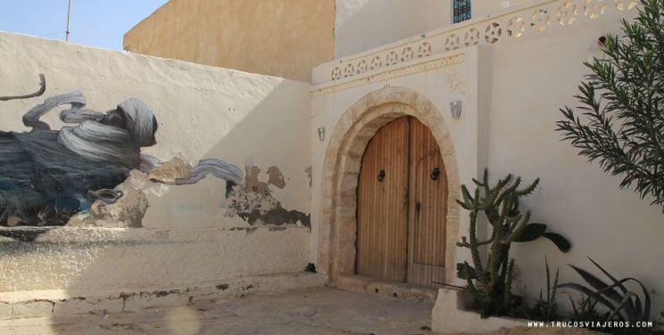 Berber street art Tunisia