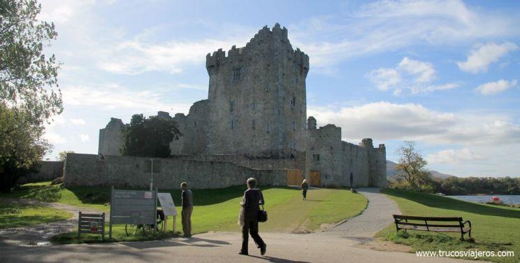 Castillo de Ross Killarney Irlanda