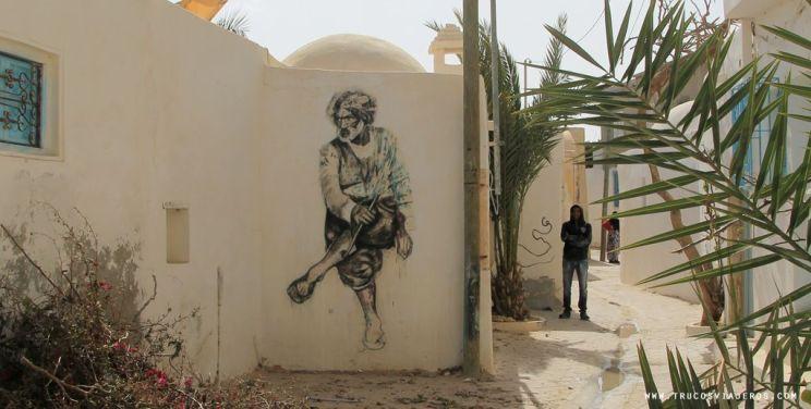 Djerbahood street art Tunisia