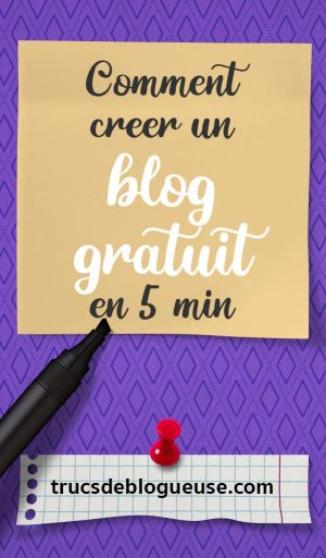 Comment créer un blog gratuit en 5 min