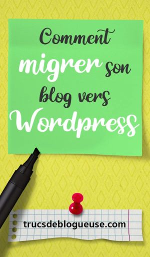Comment migrer son blog vers WordPress