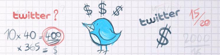 Le tweet sponsorisé : ou comment gagner de l'argent en tweetant