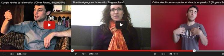 Témoignages de blogueurs qui ont réussi