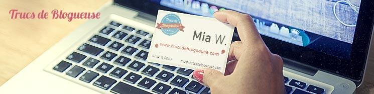 Des Cartes De Visite Pour Les Blogueuses