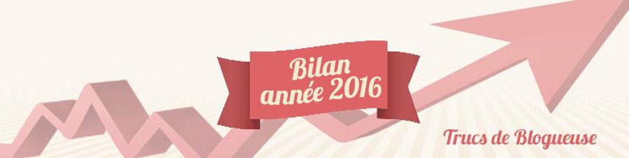 #CoulissesDuBlog n°1 : bilan de l'année 2016