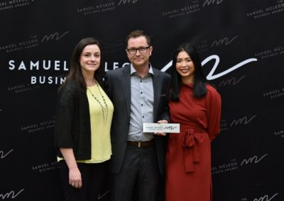 2019 Winner of the Samuel McLeod Business Award for customer service