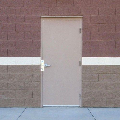Steel Exterior Doors Commercial - Photo Trend & Ideas