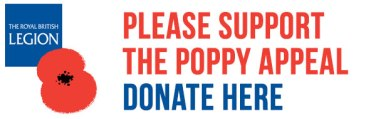 Link to British legion Poppy Appeal
