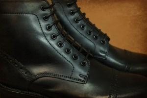 Grenson Cap toe black