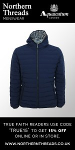 Aquascutum Paine Down Filled Puffa Jacket - Navy (1)