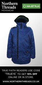 MASTRUM Snorkel Hooded Parka - Northern Blu (1)