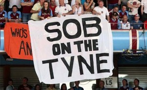 Sob On The Tyne Aston Villa Supporters