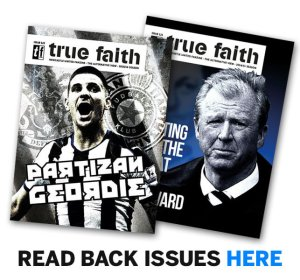 Read true faith back issues here