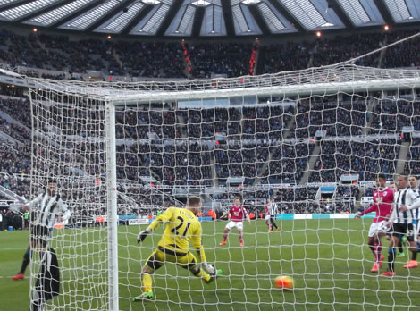 MATCH REPORT Newcastle United 1 AFC Bournemouth 3 St