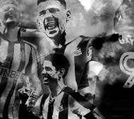 Montage of Joselu, Mitrovic, Perez and Gayle
