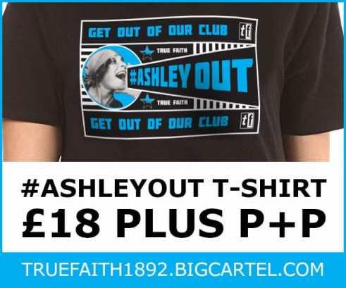 #ASHLEYOUT T-SHIRT £18 plus P+P truefaith1892.bigcartel.com