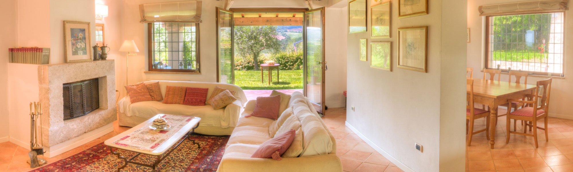 Villa Colibrì in Umbria - Living