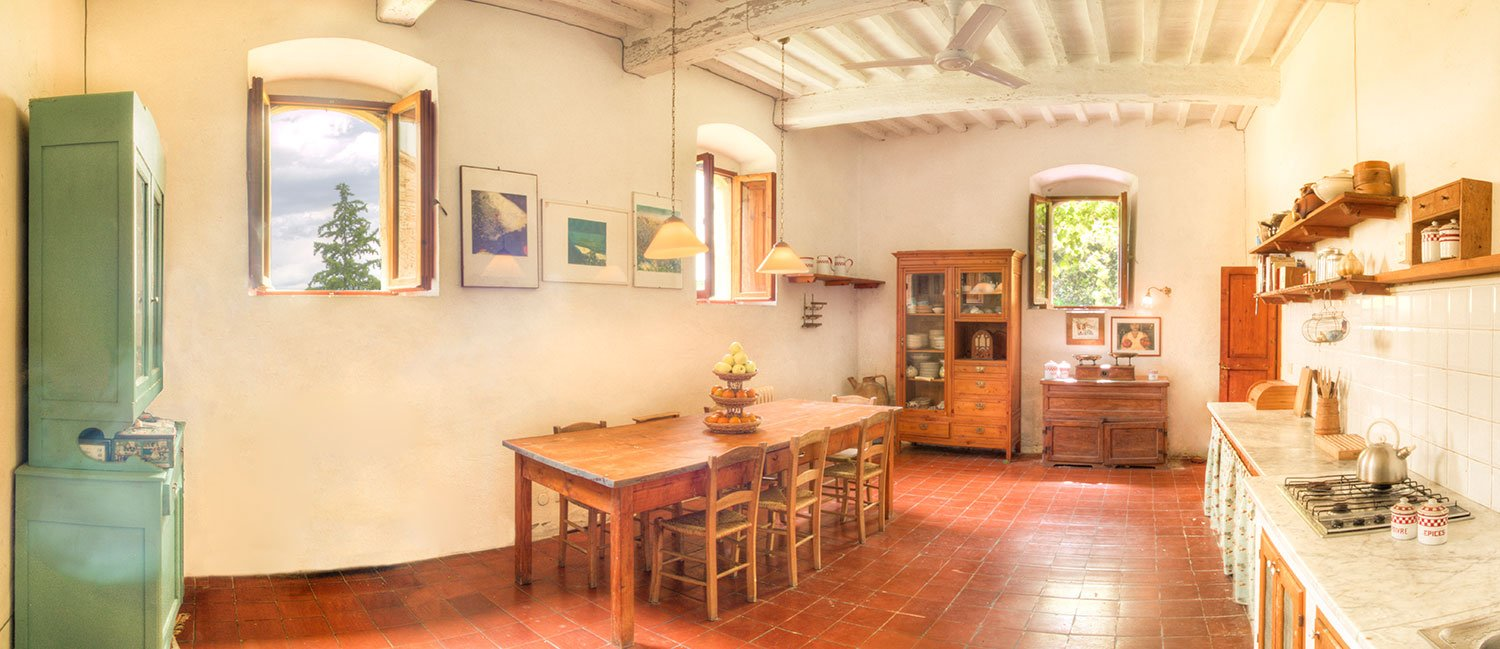 Villa Pettirosso in Umbria - Kitchen