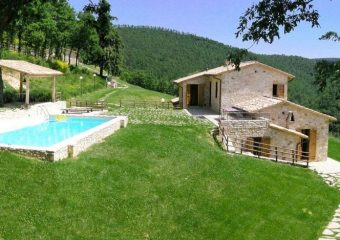 Villa Cipresso in Umbria - Exterior View