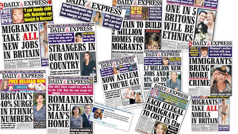 A selection of headlines that will do nothing to boost your mood. Credit: CC license, pressreform.blogspot