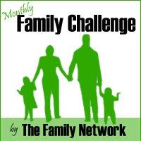 giving thanks november family challenge