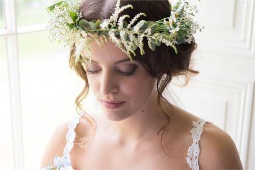 rustic charm bridal makeup