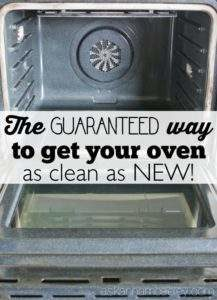 From grubby to great, this advice will have your oven looking like new.
