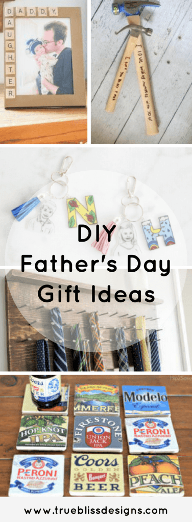 Find DIY Father's Day gifts to make him smile. #gifts #handmade #giftideas #fathersday