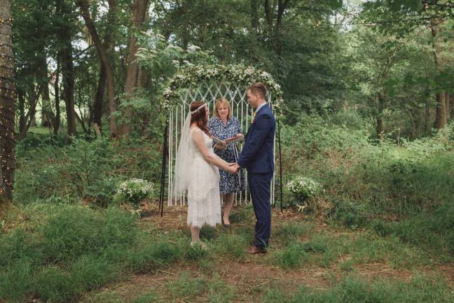 Rebecca Douglas Photographer Kent wedding photography celebrant katie keen true blue ceremonies independent celebrant humanist woodland wedding blessing sussex surrey london garden marquee tipi farm barn