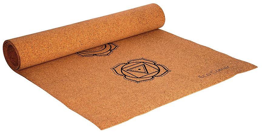 7 Chakra Cork Yoga Mat