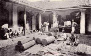 Baling Ceylon cinnamon (Sri Lanka; Late 1800s)