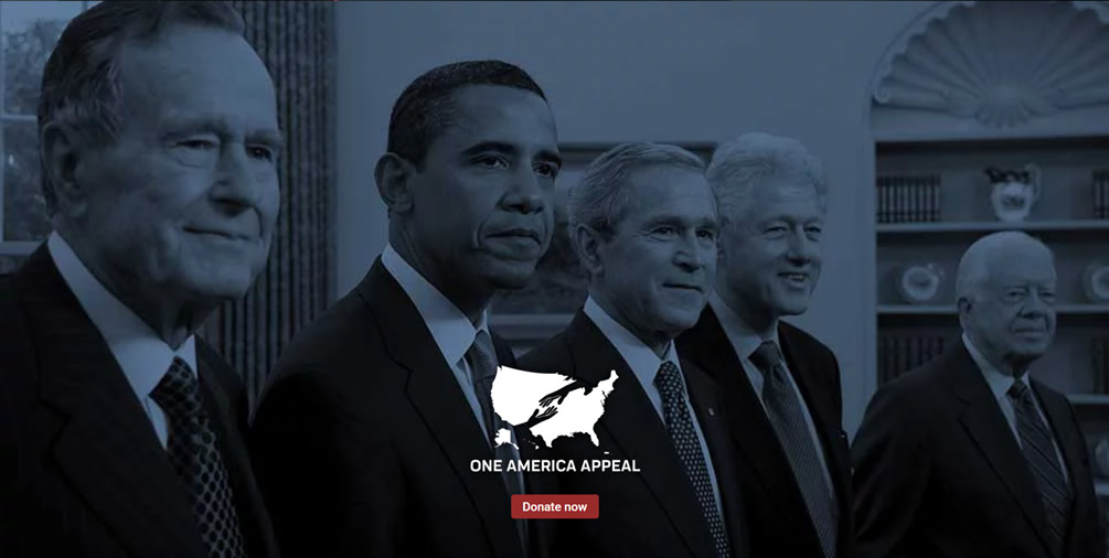 One America Appeal Hurricane Relief Donate
