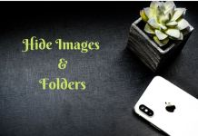 Hide Files And folders Without Any App