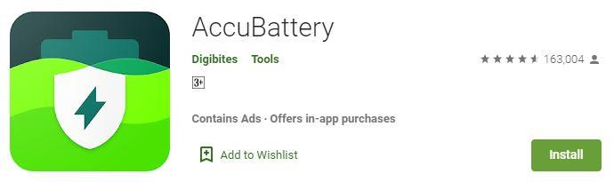 AccuBattery Battery saving App for android