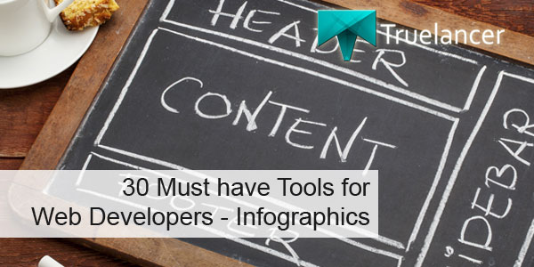 30 must have tools for web developers featured