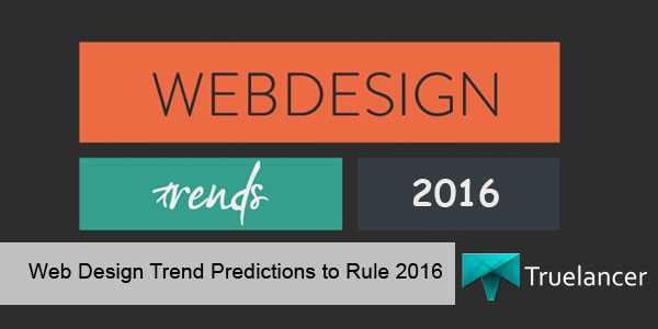 Web Design Trend Predictions to rule 2016 featured