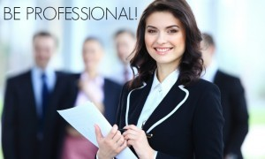 freelancing jobs for women be professional