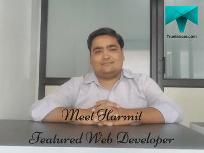 Meet Harmit Featured Web Developer