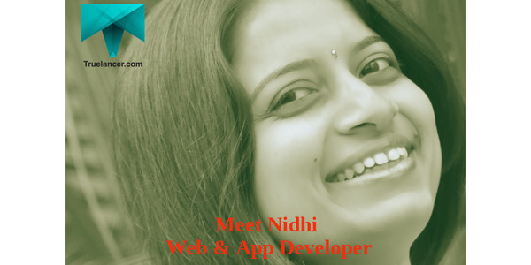 Meet Nidhi Pujara – Web and Android Application Developer from Rajkot
