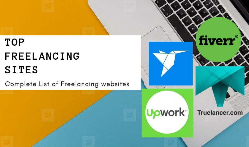 List of Freelance Sites to Start Freelancing
