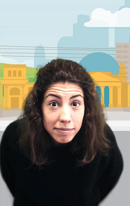 Assunção Guedes on gamification cartoon background