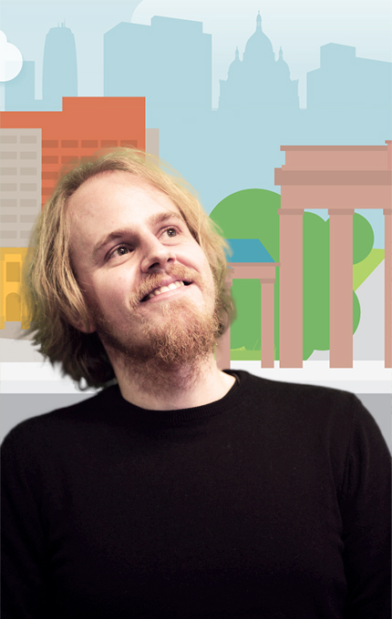 Paulo Martins on gamification cartoon background