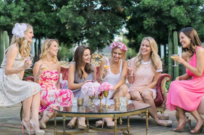 ¿Despedida de soltera, Bridal Party o Bridal Shower?
