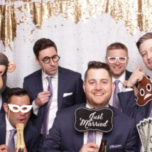 photo booth groomsmen