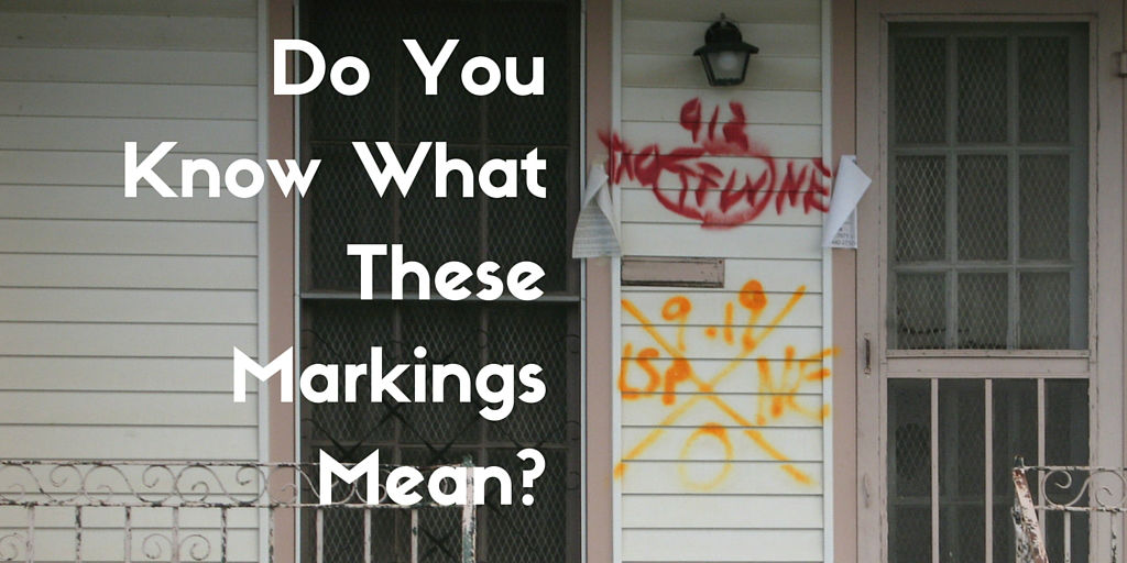 Urban Search and Rescue Markings and Why You Should Know Them