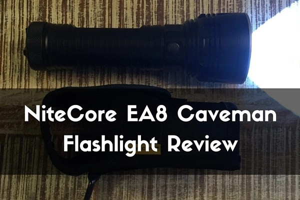 NiteCore EA8 Caveman Flashlight Review