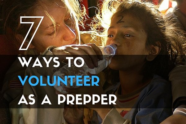 7 Ways to Volunteer as a Prepper